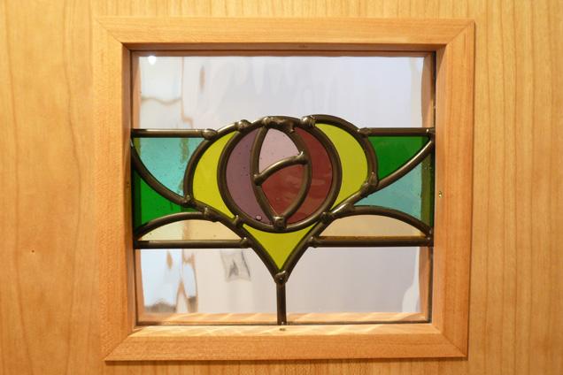 淵野辺の家ステンドグラス
