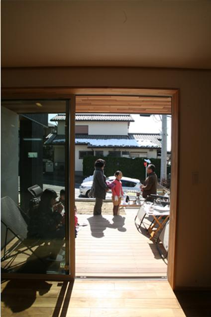 成瀬の家KAZカフェ内