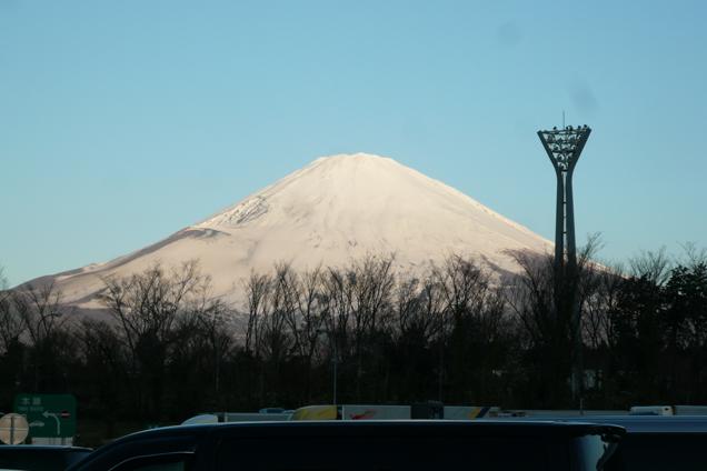 足柄PA~富士山