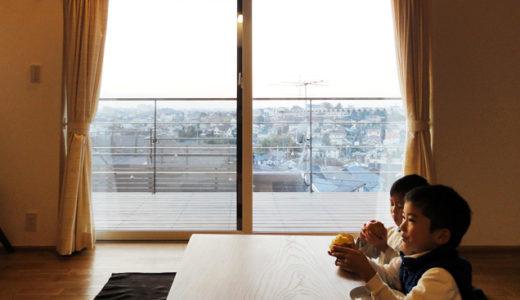 銘木が生きる丘の上の家|町田市