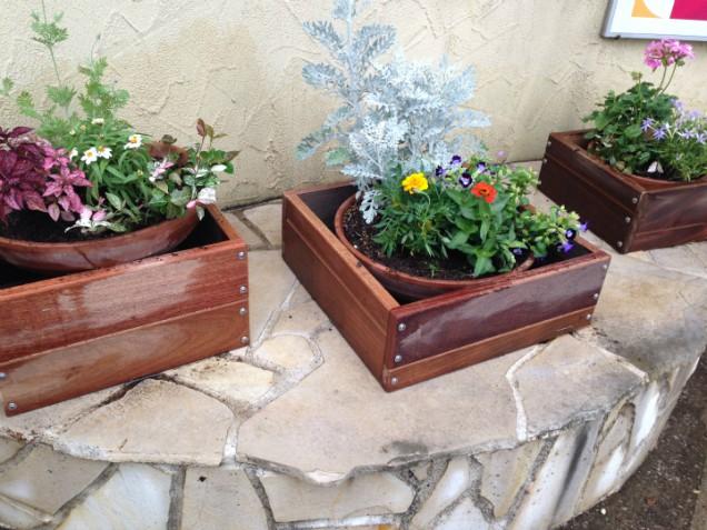 鉢植えカバー クマル