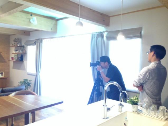 チルチンびと神奈川 撮影風景