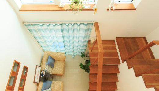 南のリゾート感あふれる白い家|世田谷区
