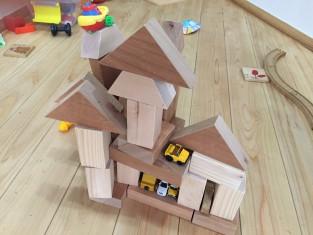 積み木のお家